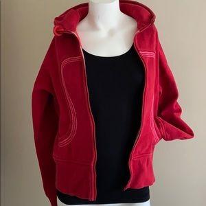 Lululemon Red Hoodie Sweater
